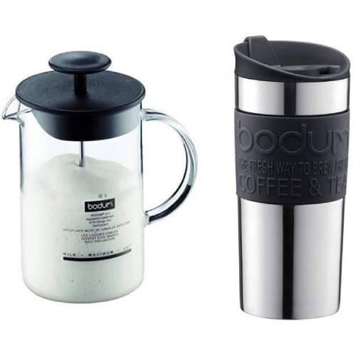 BODUM 1446-01 Latteo with Travel Mug